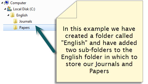 folder example