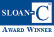Sloan-C awardee graphic logo