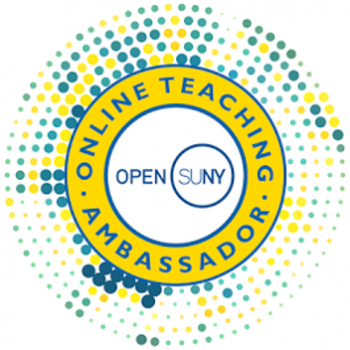 online teaching embassador badge