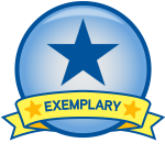 exemplary online course for observation badge