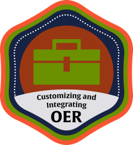 Customizing and Integrating OER Course Icon