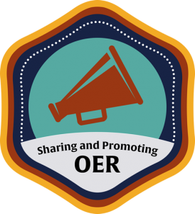 Sharing and Promoting OER Course Icon