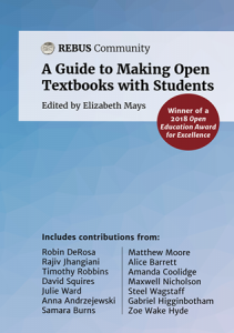 A Guide to Making Open Textbooks with Students Image of Book Cover