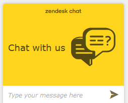 Zendesk Chat Box Image