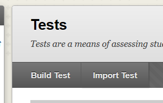 Import Test Button