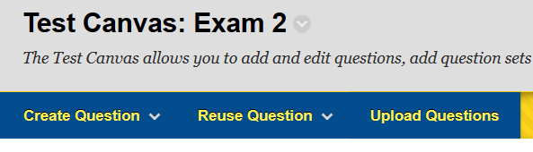 Question Set Reuse Question
