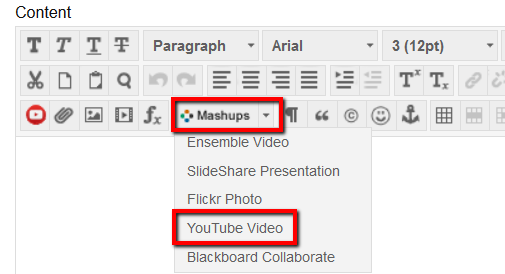 YouTube html editor